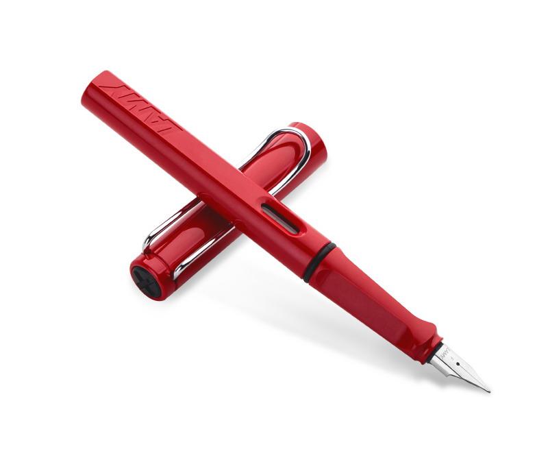 Lamy鋼筆 狩獵者紅色筆桿 凌美德國Safari系列時尚生日禮物