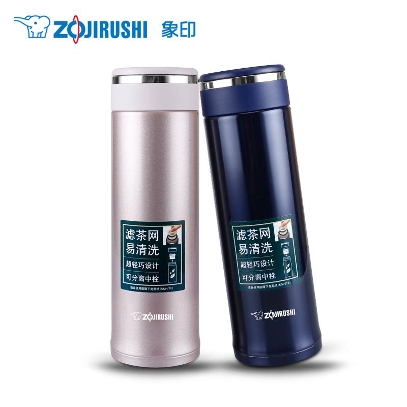 象印保溫杯SM-JTE46 不銹鋼真空保溫茶杯/保冷杯 帶濾網 460ml