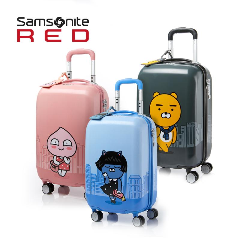 Samsonite/新秀麗卡通拉桿箱萬向輪旅行箱圖案行李箱20/24寸 DG6