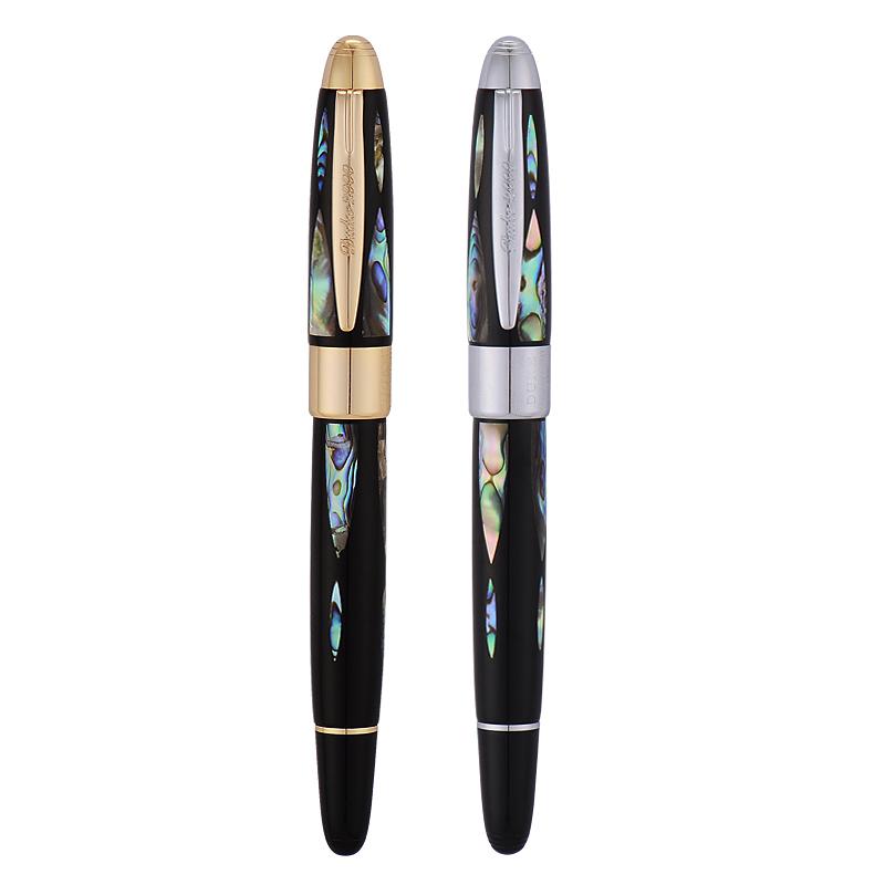 duke公爵14k美工筆鋼筆男金筆尖禮品彎頭藝術書法簽名字美工筆 鋼筆