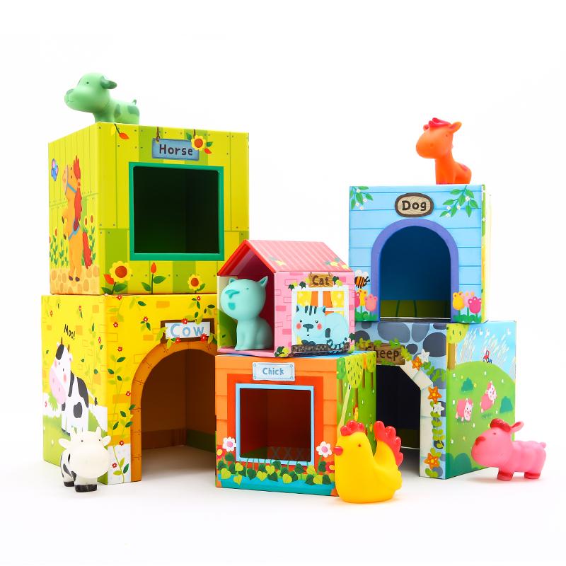 美樂兒童疊疊高玩具層層疊疊樂益智啟蒙疊疊塔桌游親子游戲1-3歲