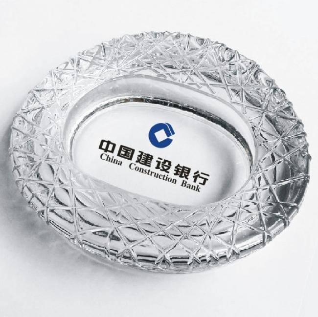 廣告玻璃煙灰缸