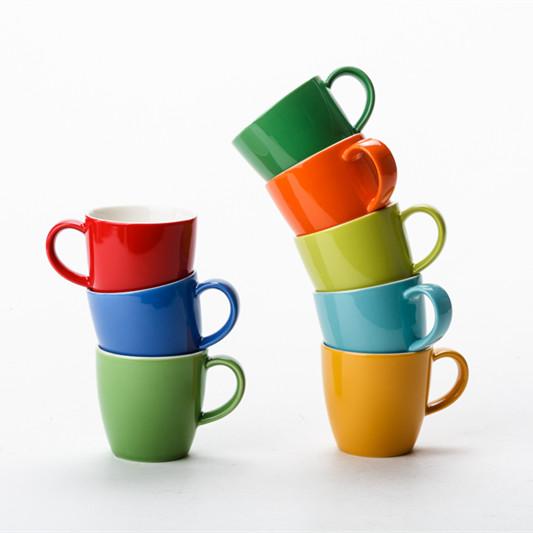 美國FORLIFE旗艦店獨享茶杯 陶瓷小號茶杯帶把家用簡約濃縮咖啡杯