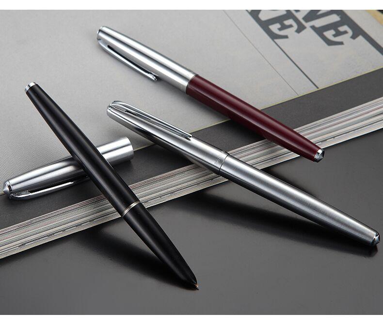 英雄100鋼筆14K金筆成人辦公用商務練字經典送禮盒裝