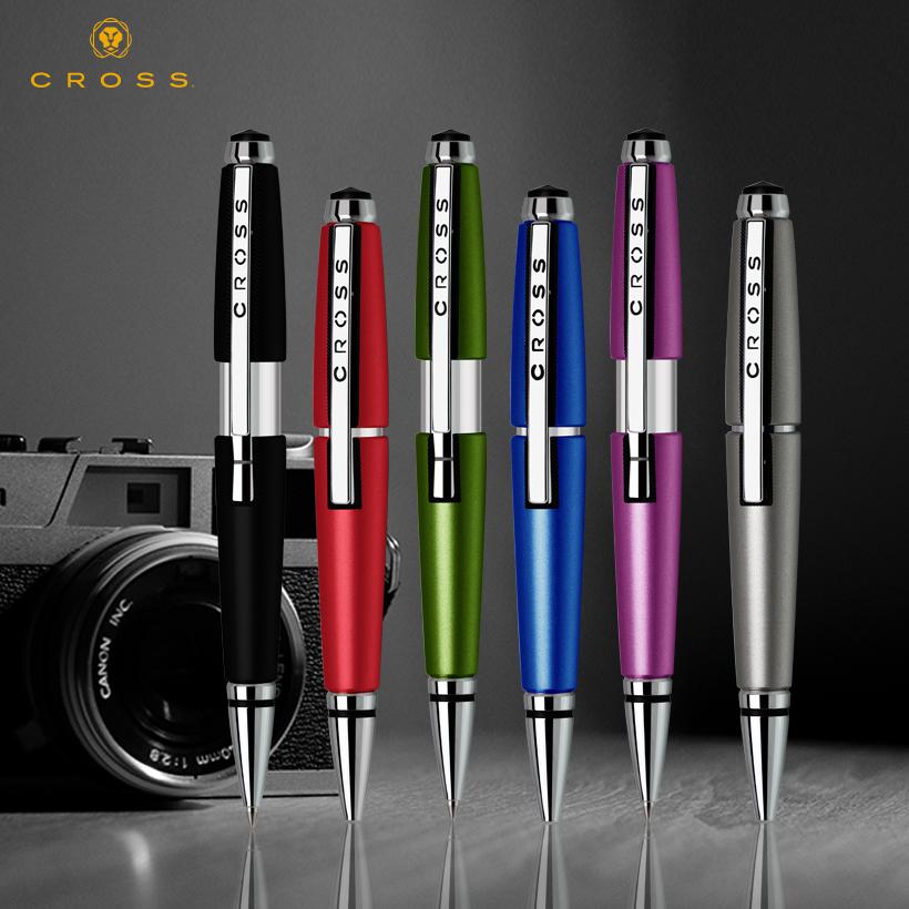 美國CROSS高仕新銳伸縮筆商務禮品寶珠筆 簽字筆 創意水筆