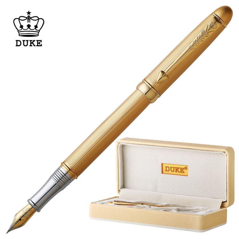 duke公爵特細鋼筆男銥金鋼筆學生專用練字商務簽字名筆96A系列