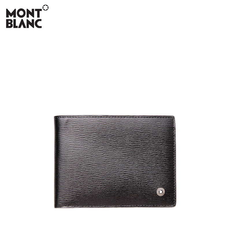 Montblanc/萬寶龍男士都市俊彥系列6卡層錢夾