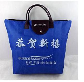 廣告中號折疊購物袋