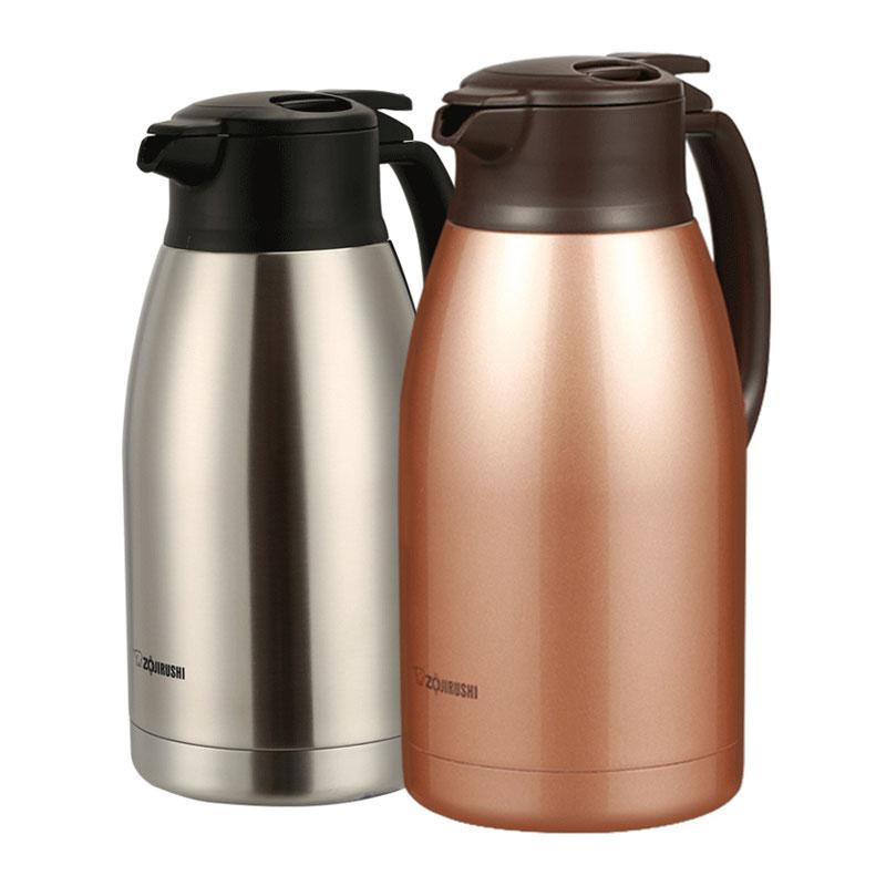 象印保溫壺HA19C家用熱水瓶不銹鋼內膽真空開水壺暖瓶大容量 1.9L
