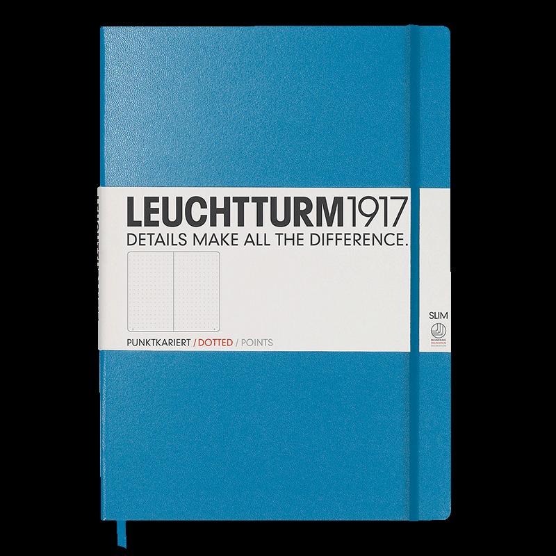 LEUCHTTURM1917德國燈塔A4+大開輕薄硬皮筆記本