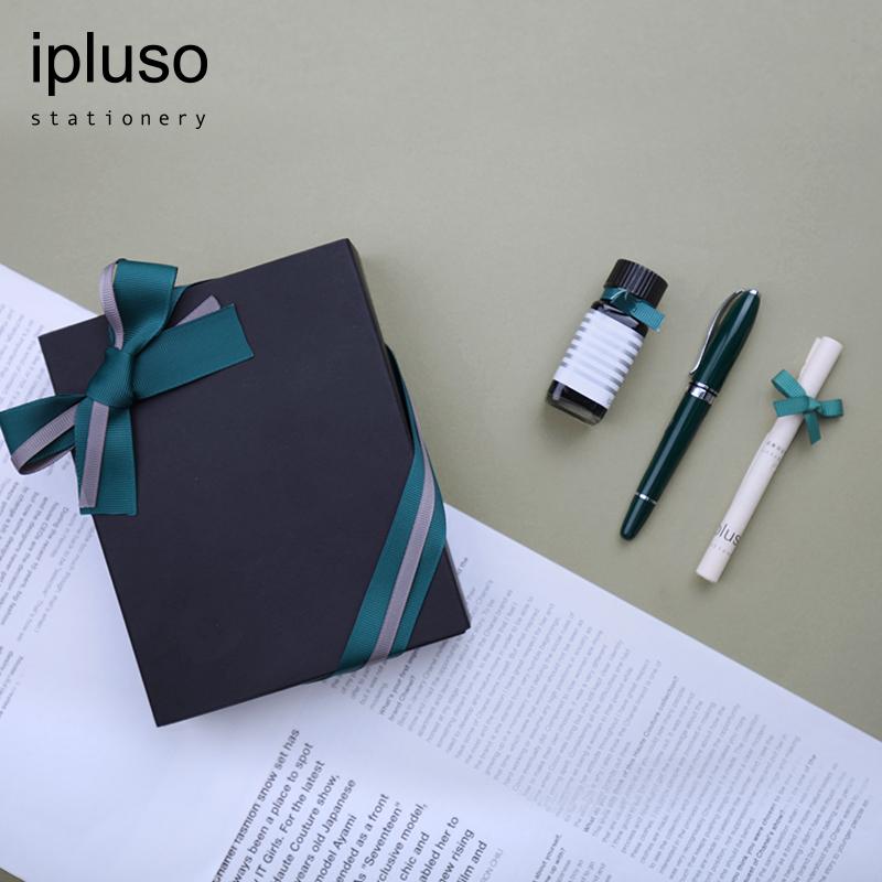 ipluso意索安迪鋼筆女士生日畢業禮物套裝學生用練字文藝成人禮盒裝女友生日硬筆短鋼筆禮品