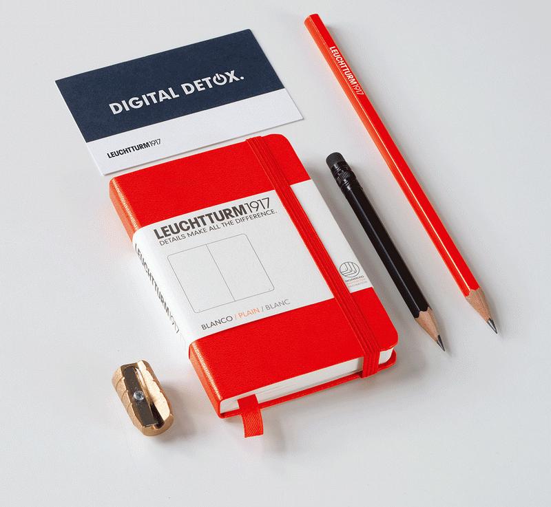 LEUCHTTURM1917德國燈塔口袋本A6硬皮筆記本