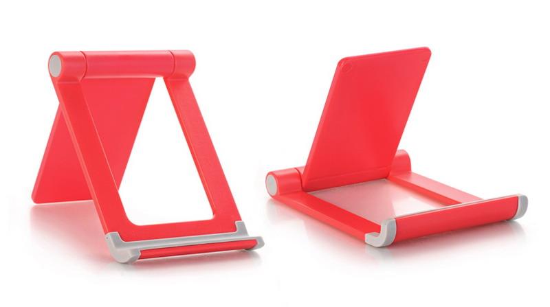 懶人通用折疊可調節定制手機平板支架